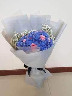 🚚 Large Hydrangea Bouquet