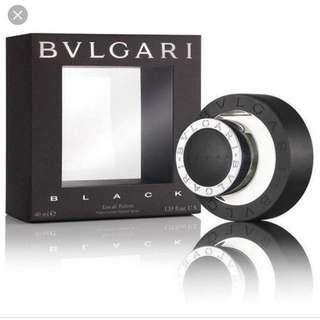 40 ml Bulgari Black unisex