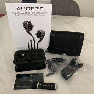 Audeze iSINE10 In-Ear Headphone iem w both cipher lightning and standard cable