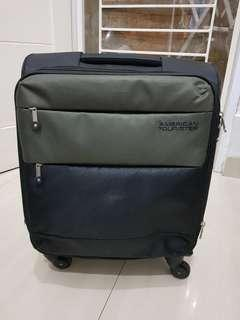 American Tourister Army Green Cabin Size