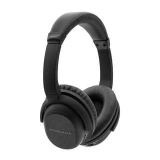 0099_Active Noise Cancelling Stereo ANC Bluetooth Headphones Fitzladd Wireless Rotatable Over-Ear Headsets Remote Control with Built-in Microphone Detachable Cable-Black