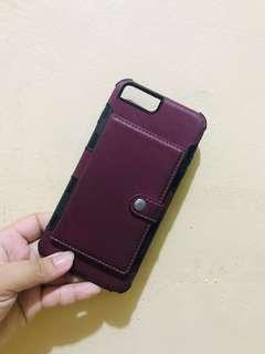 IPhone 7/8 plus case with card holder
