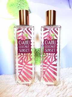 BATH AND BODY WORKS Fine Fragrance Mist (Limited Edition) - OAHU COCONUT SUNSET