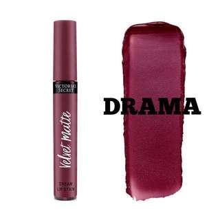 VICTORIA'S SECRET Velvet Matte Cream Lip Stain - Drama