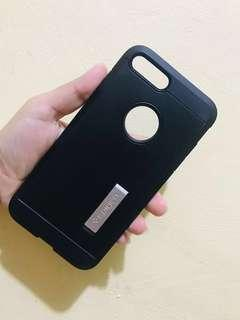 Black Spigen Case for IPhone 7 plus