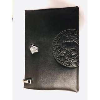 men clutch leather A4 size no brand