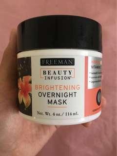 Freeman Beauty Infusion Brightening Overnight Mask #BEAUTY50