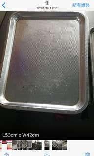 stainless steel trays 4 available