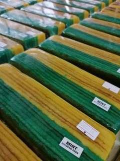 Kek Lapis Sarawak: Mint soda