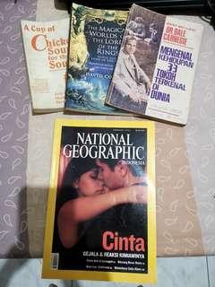 #bersihbersih novel and national geographic
