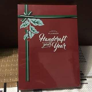 Starbucks 2019 White Planner, sealed, without card