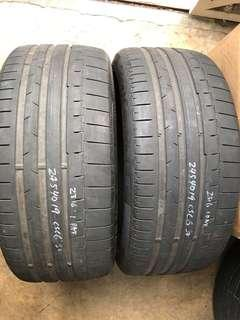 245/49/19 cpc6 used tyre 1pc$50