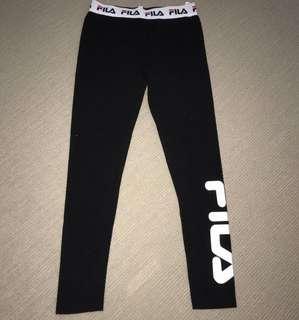 Fila black leggings