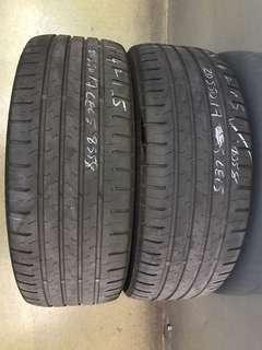 205/50/17 continental used tyre 1pc $40