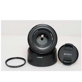 SONY FE 50mm f.1.8 Like New