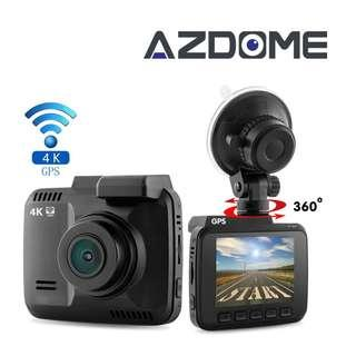 0102_Azdome Car Dash Cam GS63H Dashboard Camera Recorder with 4K FHD Built in WIFI and GPS 150 Wide-Angle with Loop Recording Motion Detection G-sensor and Support APP
