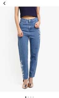 Something Borrowed Highwaist Boyfriend Jeans