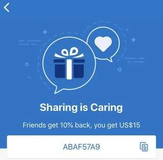 BOOKING.COM CODE | Get a 10% back reward when you book your next trip using this code: ABAF57A9