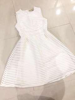 🚚 Mannequeen White Dress