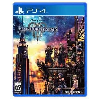 PS4 Kingdom Hearts III Kingdom Hearts 3