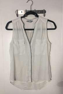 H&M Sleeveless Sheer Top