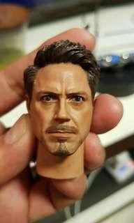 IN STOCK 1/6 Tony Stark headscrupt