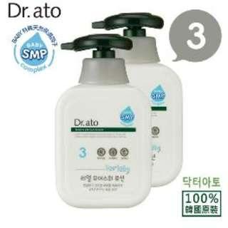 [Dr.ato] 3號敏寶寶保濕乳液 350ml *2瓶 保濕長達48小時 韓國 DR-3350X2