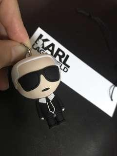 🚚 Karl 超可愛老佛爺3D鑰匙圈,正面反面都有做。