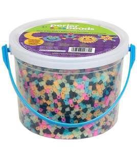 """🚚 BN Perler Beads Fun Fusion Bucket """"GLow in the Dark"""""""