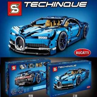 **Ready Stock** SY 7950A : Bugatti Chiron with Chrome Wheels