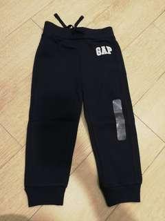 Gap logo blue fleece pants