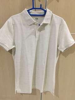 Uniqlo Polo Shirt White