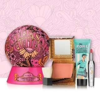 Brand New Benefit Cosmetics Cable Car Cuties Set
