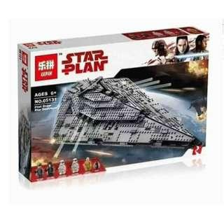 **Ready Stock** Lepin 05131 : The First Order Destroyer