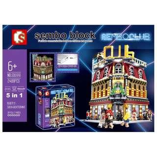 **Ready Stock** SD 6991 : Sembo Club House (With lighting)