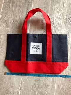 Opening Ceremony tote bag 雙面不織布飯袋 / 袋
