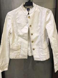 Gap white jacket