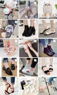READYSTOCK SHOES & BAGS AT MY IGSHOP!