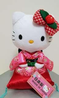 Hello Kitty 日本製 和服款 (約20公分)
