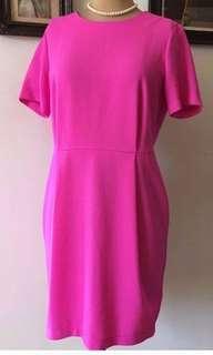 Topshop shocking pink dress
