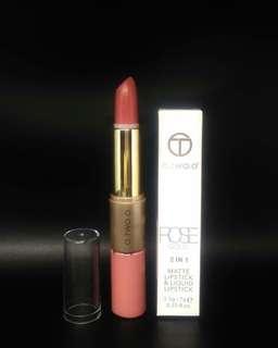o.two.o 2 in 1 matte lipstick and liquid lipstick (two in one ada lipstick ada lipcream)