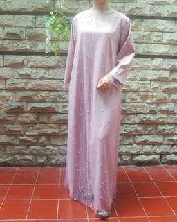 Pink tunik long dress