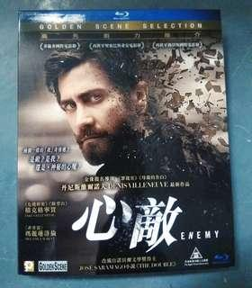心敵 Enemy Bluray Disc 藍光碟 港版 (有中文字幕)  JAKE GYLLENHAAL $30