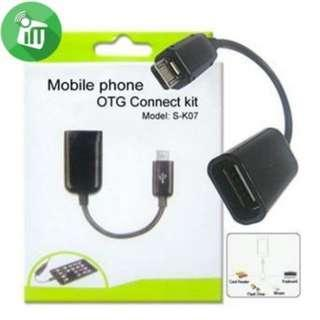 Smart Usb Android Phone OTG Connect Kit For Samsung/HTC5.0