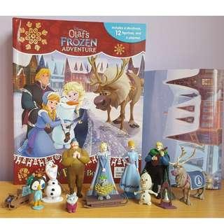 BN: Disney Olaf's Frozen Adventure My Busy Book with 12 Figurines and Playmat