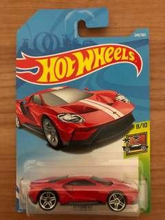 Hot wheels 17 Ford GT