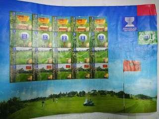Stamps World Golf