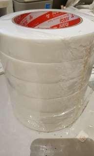 雙面加厚海棉膠紙膠帶 強力固定 黏貼 寬2.4cm 長300cm 2卷$20包本地平郵