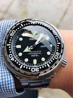 Price reduced - Seiko mm300 Tuna Sbbn031