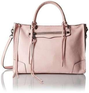 BNIB Rebecca Minkoff Regan Satchel Tote (lilac rose)